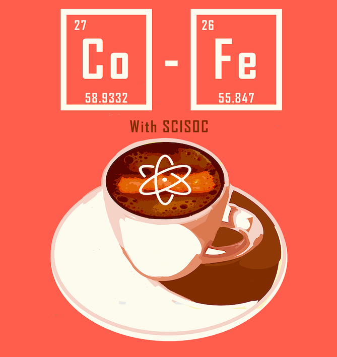 poster for coffee morning with ucd science society
