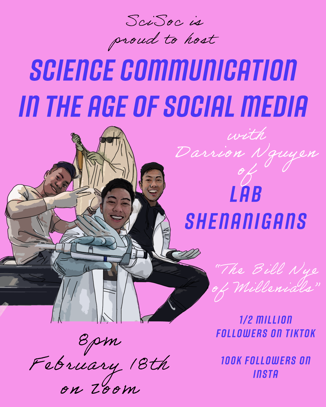 Poster for Lab Shenanigans
